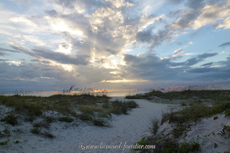 Plage et dune de Floride